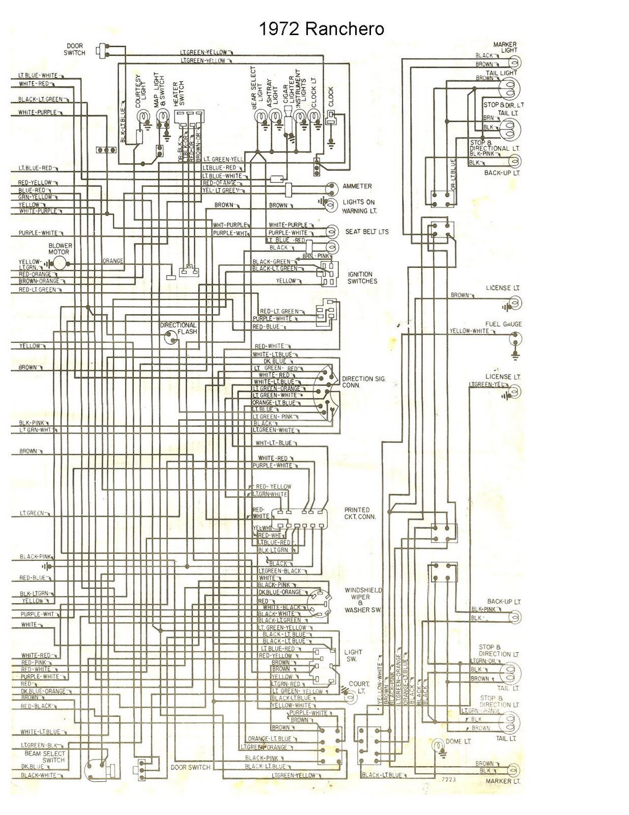 Peachy 1961 1963 Ford F 100 Wiring Diagram Basic Electronics Wiring Diagram Wiring Cloud Xortanetembamohammedshrineorg