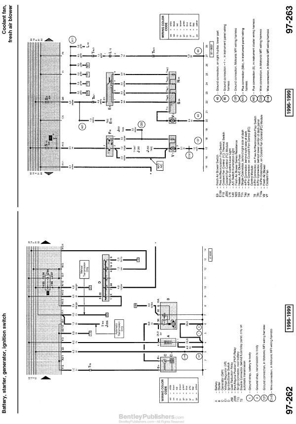Volkswagon Cabriolet Wiring Diagram