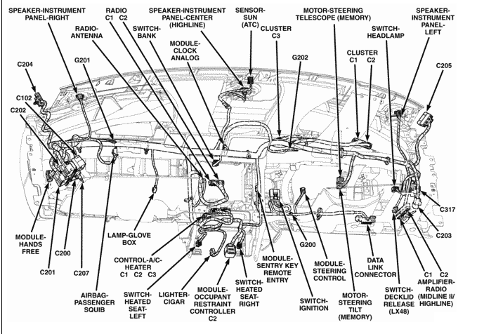 dodge magnum wiring harness diagram la 6982  wiring diagram 2005 dodge magnum schematic wiring  wiring diagram 2005 dodge magnum