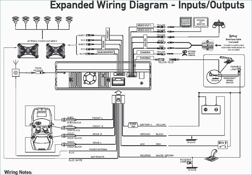 Radio Wiring Diagram Subaru