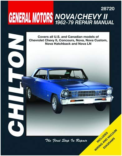 Fantastic Amazon Com Chilton Gm Nova Chevy Ii 1962 1979 Repair Manual 28720 Wiring Cloud Apomsimijknierdonabenoleattemohammedshrineorg
