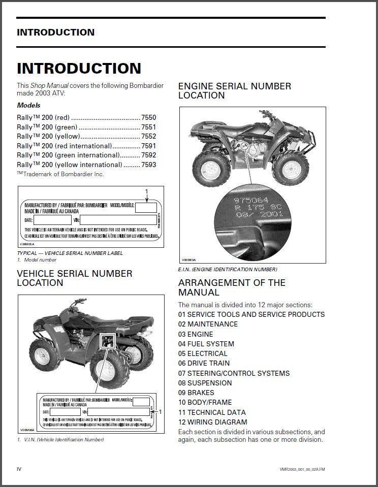 bombardier engine diagram go 9646  bombardier atv wiring diagram download diagram  go 9646  bombardier atv wiring diagram