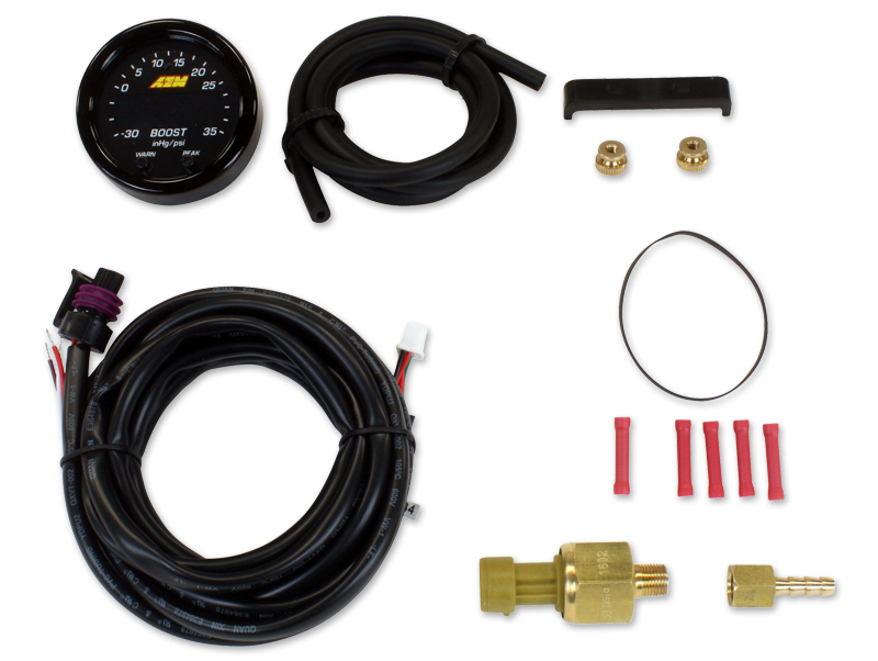 AEM 35-3405 Electronics Extension Harness Boost Gauge Type