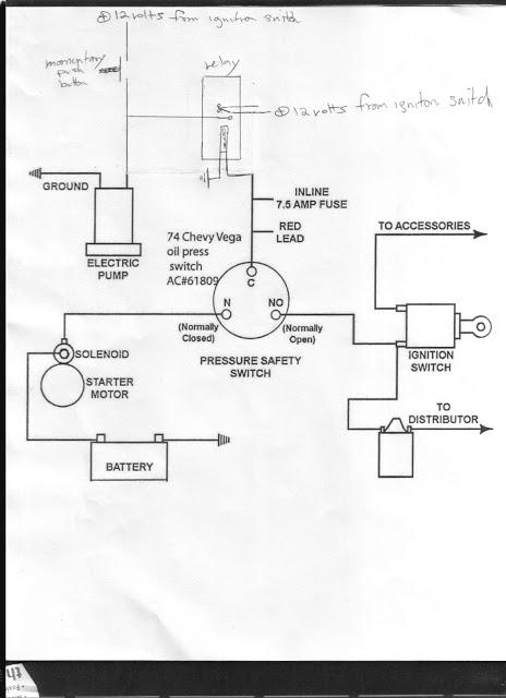 Ln 8909 Wiring Diagram For Fuel Pump Oil Pressure Switch Download Diagram