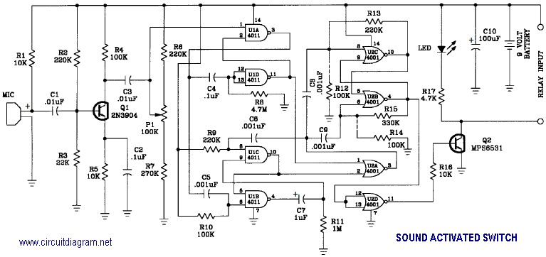 Fine Sound Activated Switch Circuit Schematic Wiring Cloud Apomsimijknierdonabenoleattemohammedshrineorg