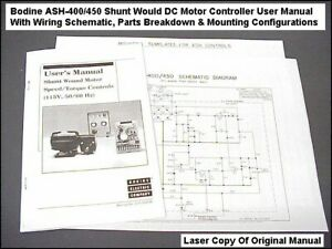 Magnificent Bodine Ash 400 Dc Motor Controller Manual Wiring Diagram Pin Out Wiring Cloud Staixaidewilluminateatxorg