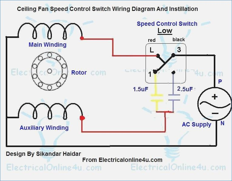 Phenomenal Ceiling Fan Speed Control Switch Wiring Diagram Speed Ceiling Wiring Cloud Timewinrebemohammedshrineorg