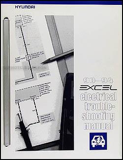 Tremendous 1990 Hyundai Excel Electrical Troubleshooting Manual Original Wiring Cloud Ymoonsalvmohammedshrineorg