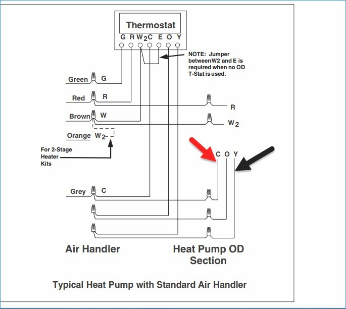 a goodman thermostat wiring diagram heat pump phk 0 36 i