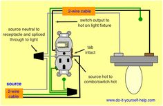 Cool Wiring Diagram Outlet To Switch To Light Basic Electronics Wiring Wiring Cloud Eachirenstrafr09Org