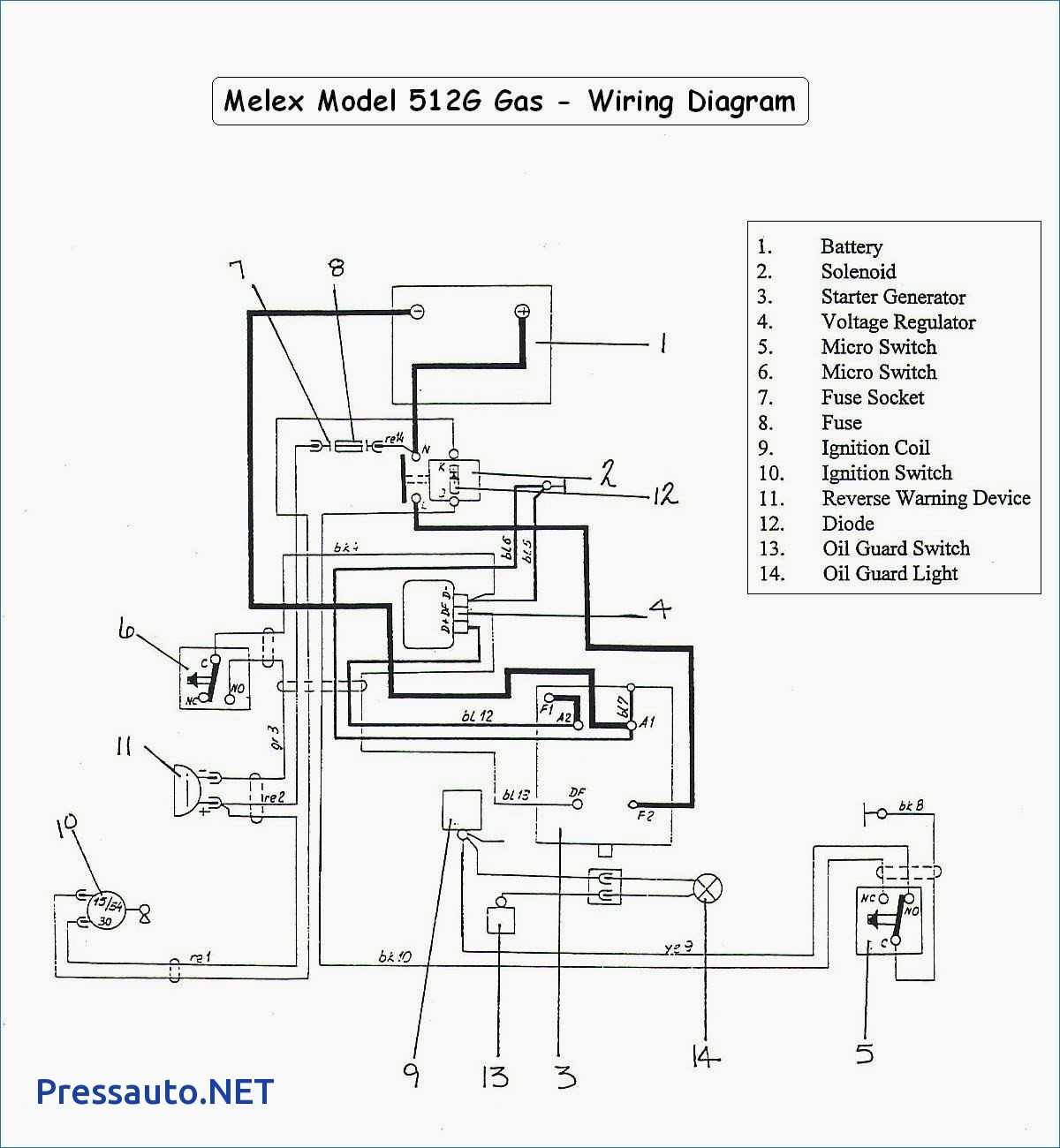 Yamaha G9 Golf Cart Wiring Diagram - Wiring Diagram Schemas