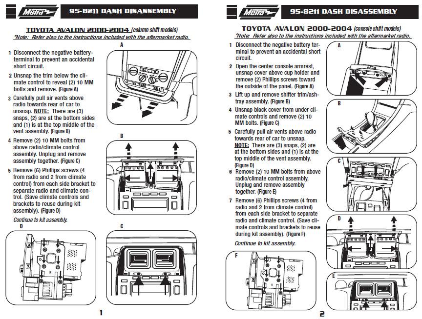 zx5831 2002 toyota avalon radio wiring diagram free diagram