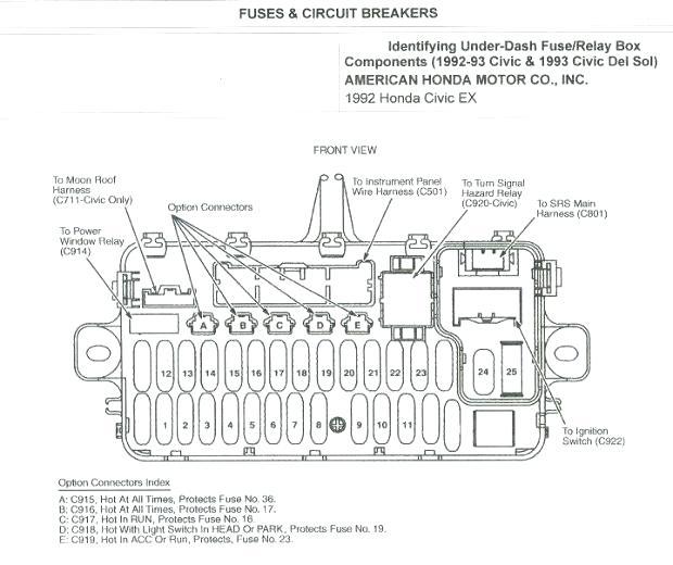 Diagram 1989 Honda Accord Lxi Fuse Box Diagram Full Version Hd Quality Box Diagram Ladderdiagram Agence Enigma Fr
