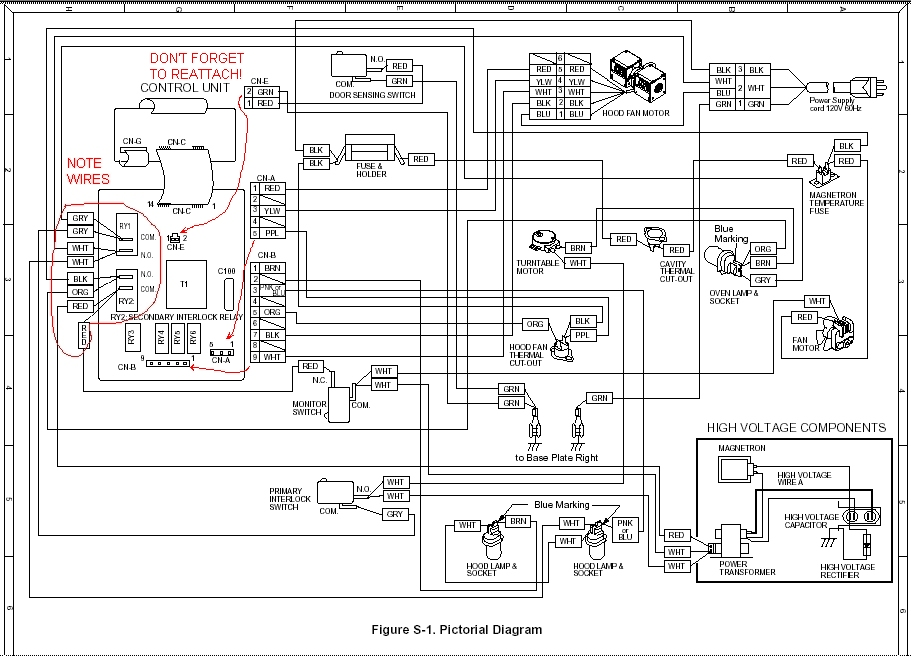 zd5857 microwave oven parts diagram microwave ovens on