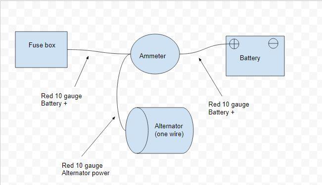 Ex 7934 One Wire Alternator Wiring Diagram Tractor Free Diagram