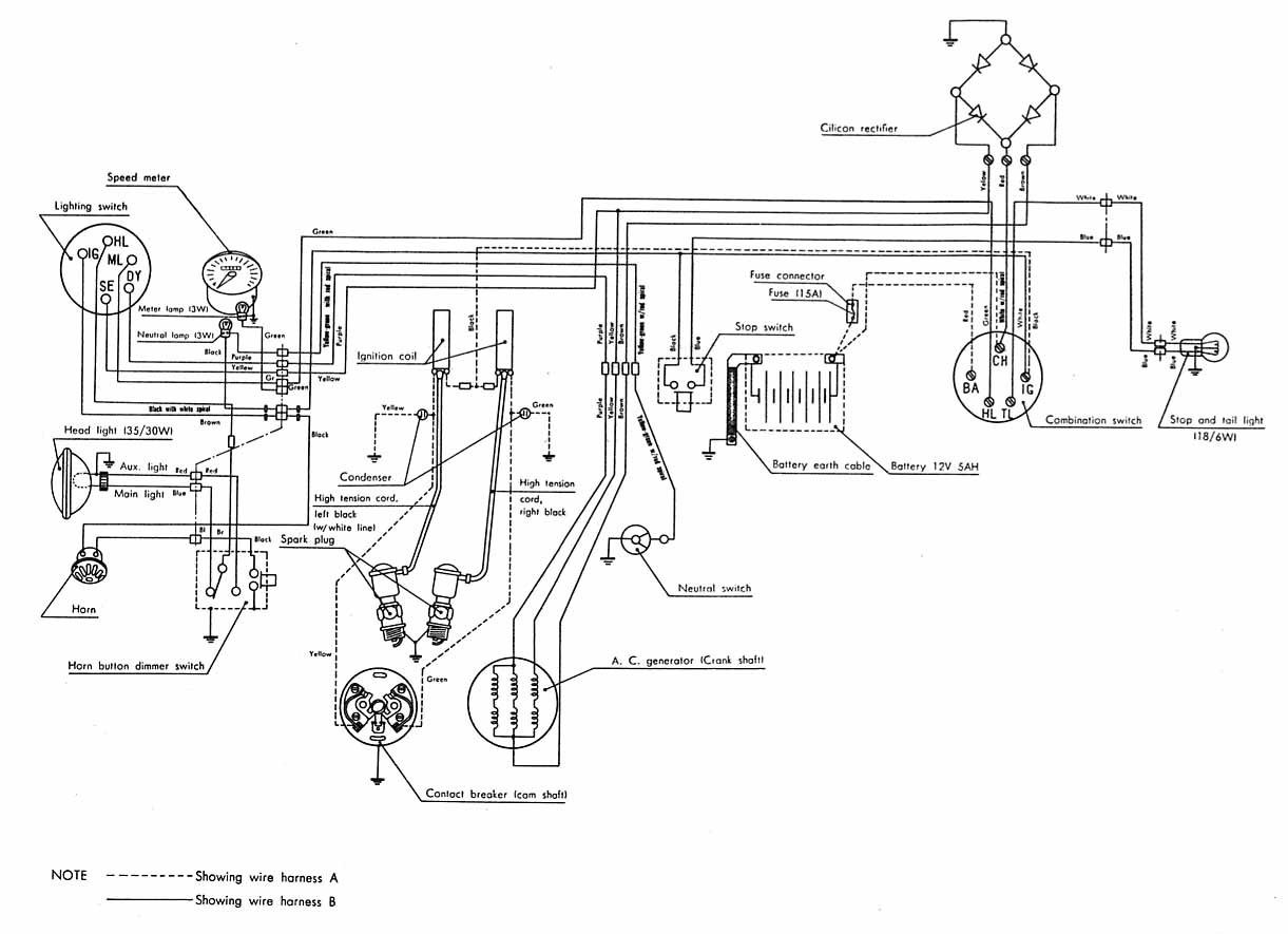 RH_1913] Honda Xl175 Electrical Wiring DiagramPlan Wigeg Mohammedshrine Librar Wiring 101