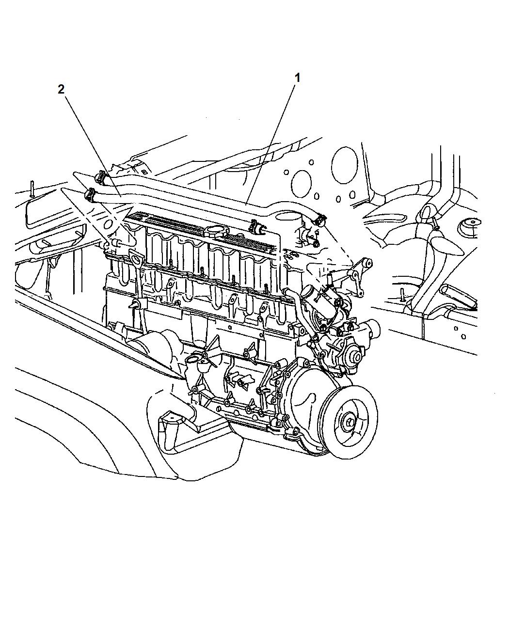 Tr 6185 2004 Jeep Grand Cherokee Heater Hoses Diagram Download Diagram