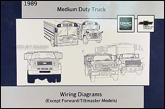 Prime 1989 Gmc Chevy Medium Truck Wiring Diagram Manual Original Wiring Cloud Hemtegremohammedshrineorg