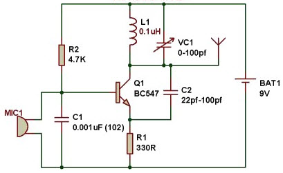 Enjoyable Fm Transmitter Circuit Working And Its Applications Wiring Cloud Timewinrebemohammedshrineorg