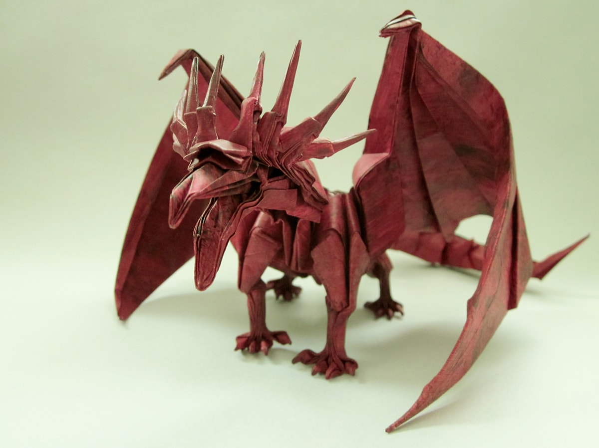 Astonishing Get Fired Up For These Incredible Origami Dragons Wiring Cloud Licukaidewilluminateatxorg