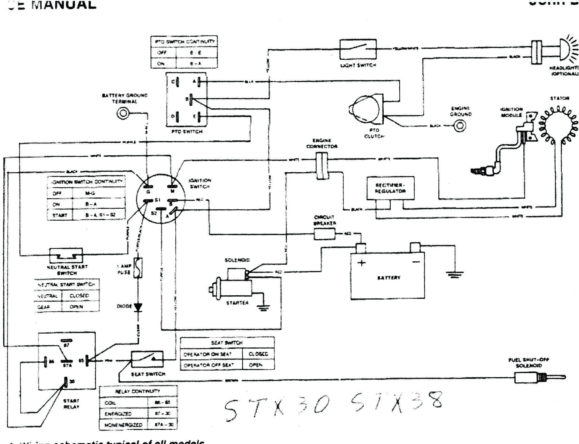 Xw 2073 John Deere 4440 Wiring Schematic Wiring Diagram