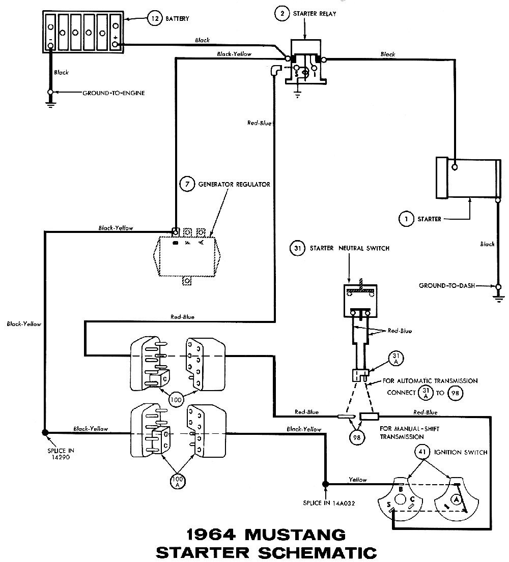 Hr 9547 Ford Solenoid Switch Wiring Diagram Schematic Wiring