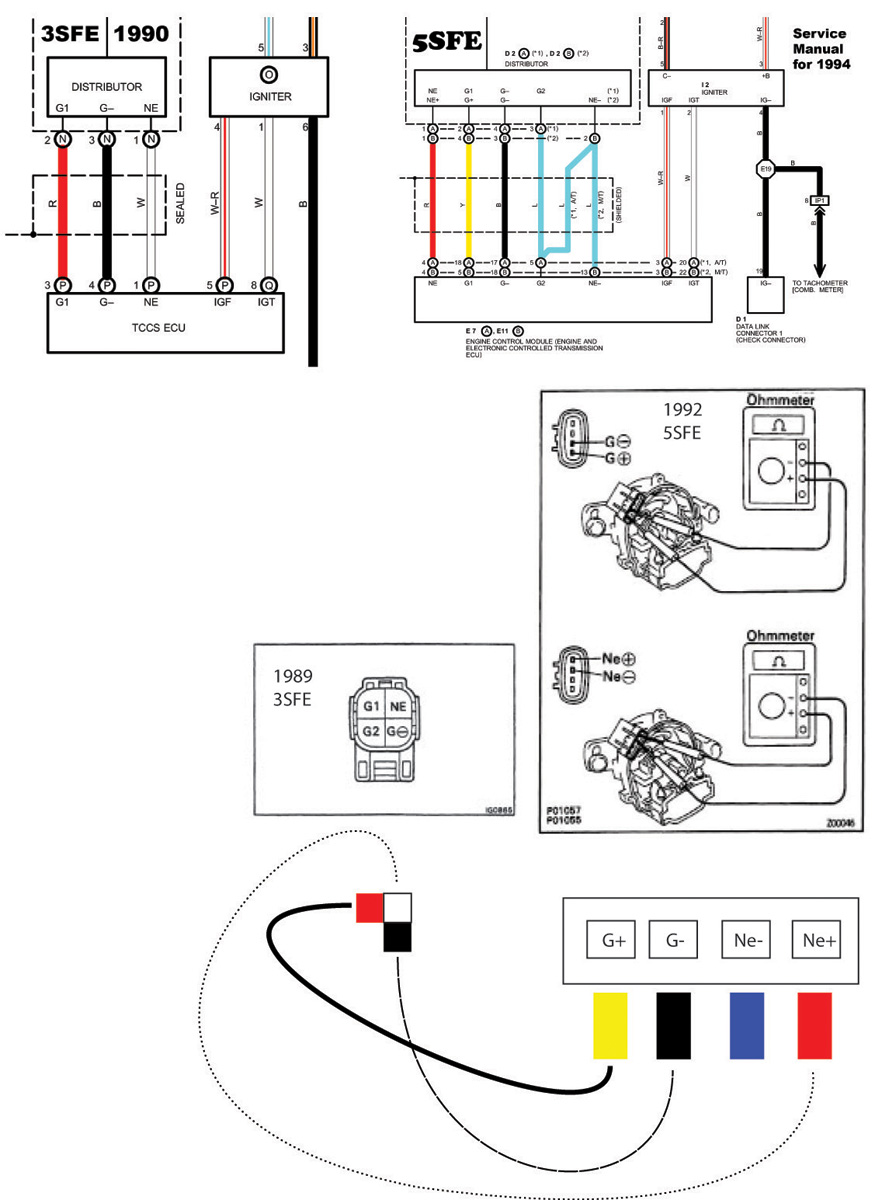 ND_1219] Stuck At Distributor Control Wires 3Sfe To 5Sfe Swap Toyota Nation  Free DiagramPila Kapemie Mohammedshrine Librar Wiring 101