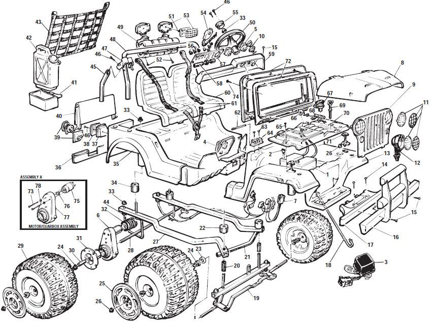 zm 3390 jeep power wheels wiring diagram parts diagram power wheels jeep download diagram jeep power wheels wiring diagram parts