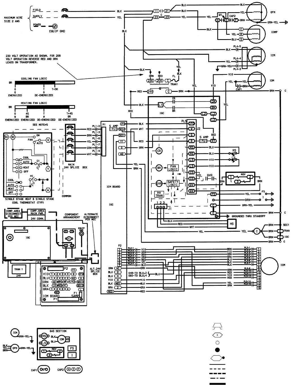 Fine Bryant 588A 589A Fig 30 208 230 1 60 Wiring Diagram Units 589A048 060 Wiring Cloud Honeendutblikvittorg