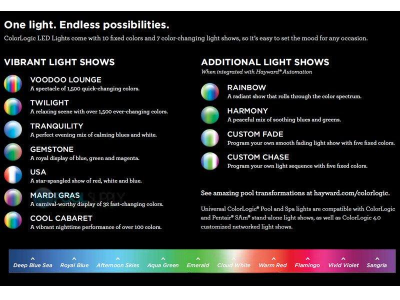 Peachy Hayward Universal Colorlogic Led Pool Light Lpcus11030 Wiring Cloud Odgahapolomohammedshrineorg
