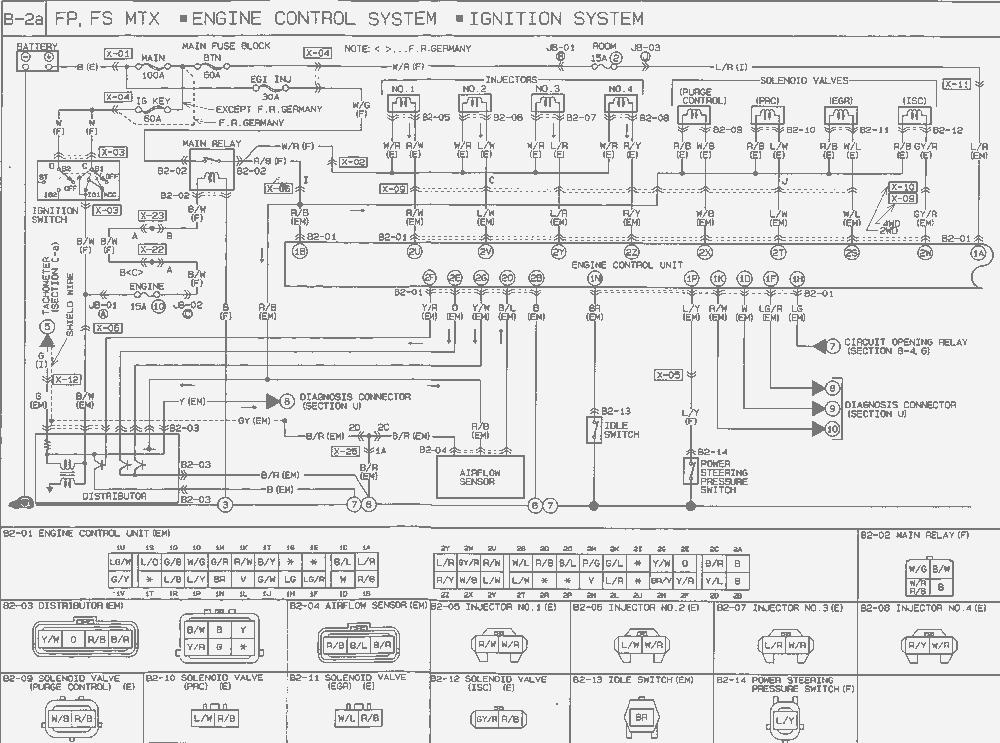 Nc 9597 Stereo Wiring Diagram Mazda Protege 2000 Wiring Diagram