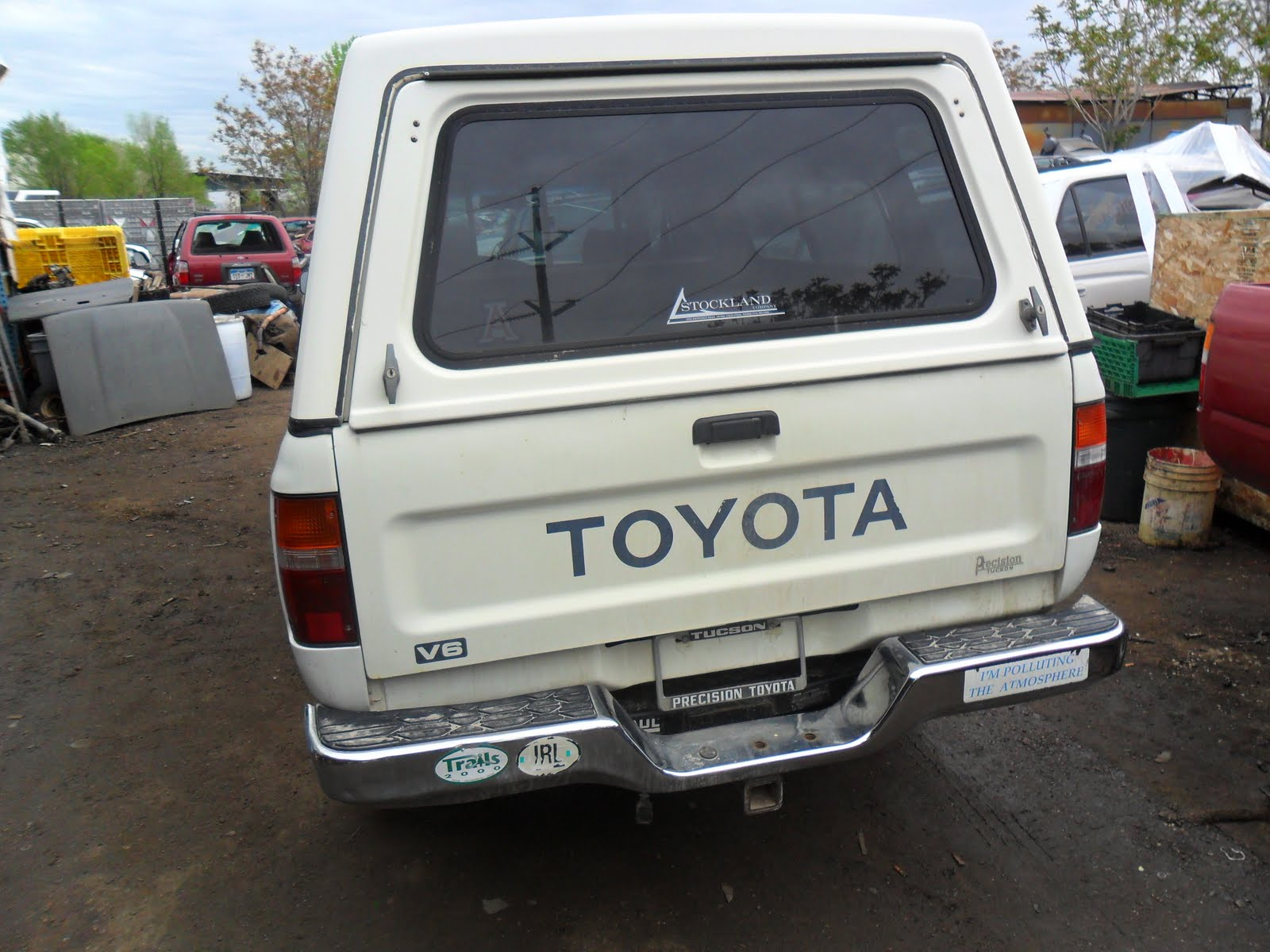 Sensational New Arrivals At Jims Used Toyota Truck Parts 1992 White Toyota Wiring Cloud Hisonepsysticxongrecoveryedborg