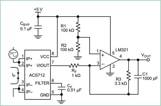 Yn 7490  Ac Current Sensor Circuit Wiring Diagram