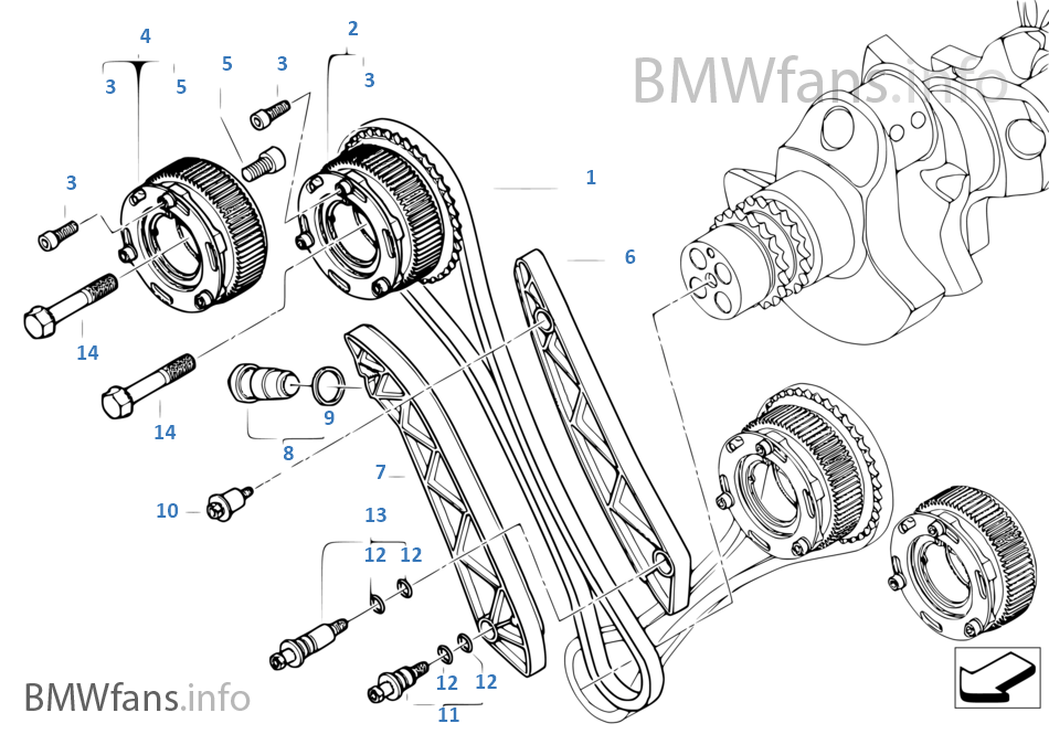 Peachy Timing Gear Timing Chain Cyl 1 5 Bmw 5 E60 M5 S85 Europe Wiring Cloud Onicaalyptbenolwigegmohammedshrineorg