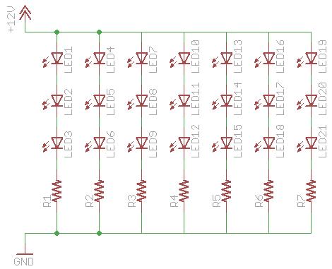 Awe Inspiring 12V Led Circuit Basic Electronics Wiring Diagram Wiring Cloud Hemtegremohammedshrineorg