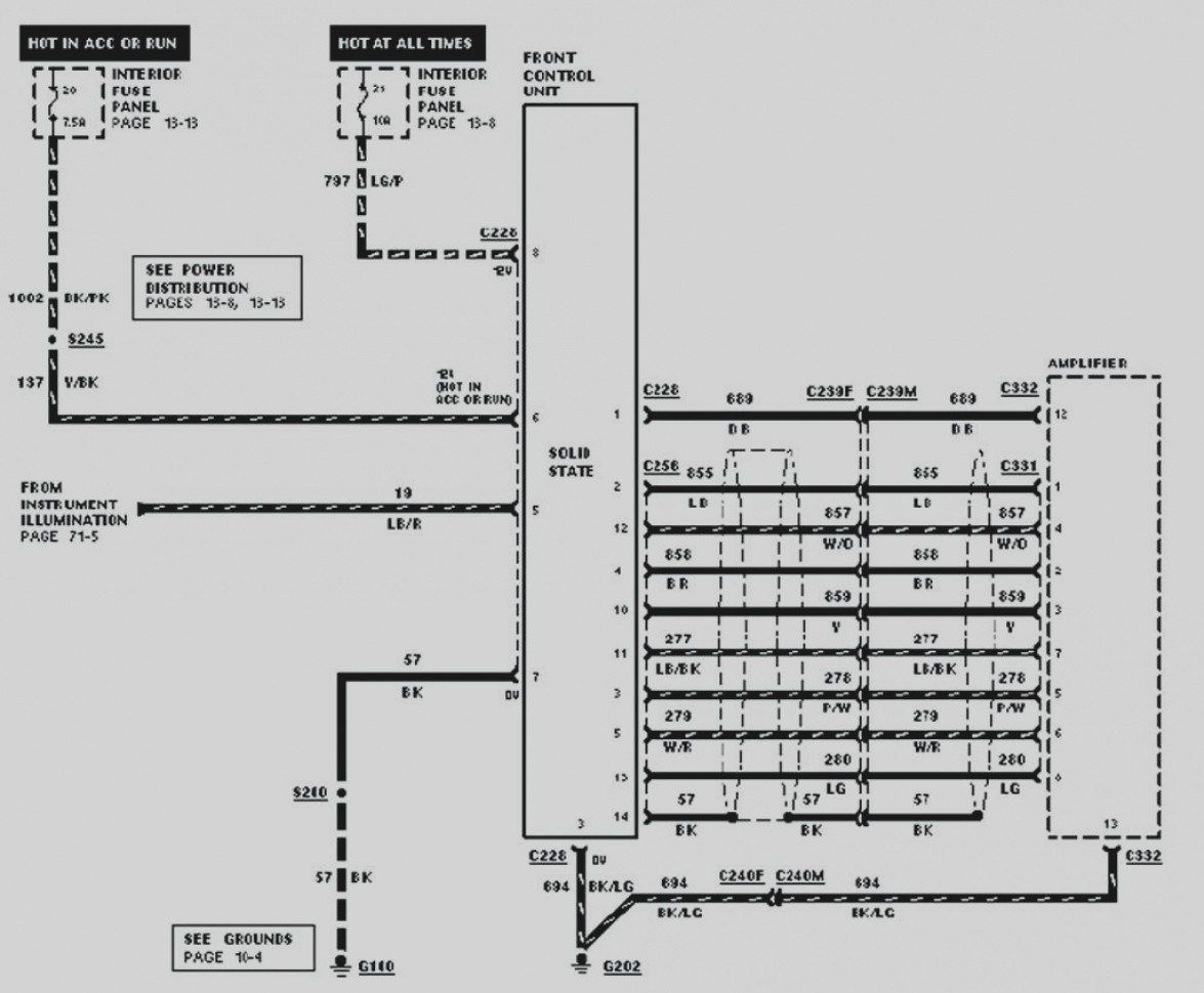 2003 Ford Explorer Door Wiring Diagram