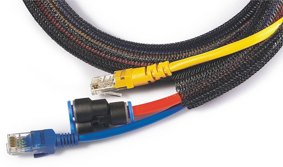 Cool Self Closing Braided Wrap For Automotive Wiring Harness Sleeve Scw Wiring Cloud Eachirenstrafr09Org