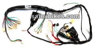 Awesome Wiring Harness Cd Dawn Ks Swiss Motorcycle Parts For Hero Honda Cd Dawn Wiring Cloud Rdonaheevemohammedshrineorg