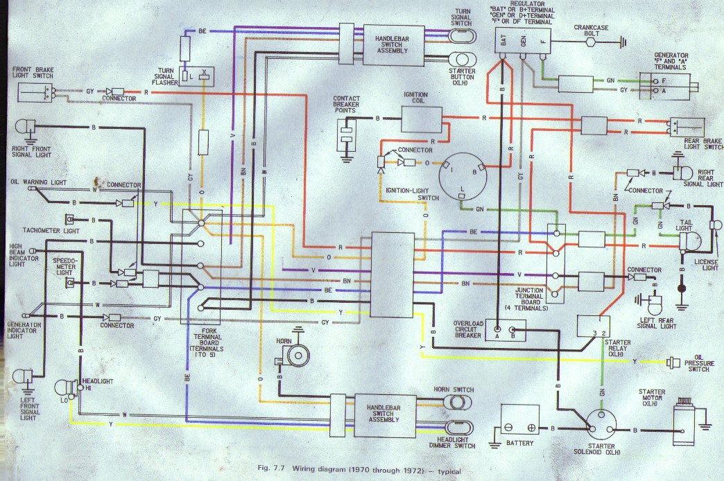 Harley Davidson Sportster Charging System Wiring Diagrams For 1979 Wiring Diagram Corsa C Corsa C Pasticceriagele It