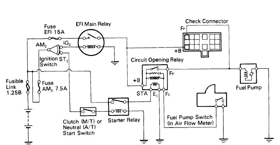 Lz 7855  Wiring Diagram To Fuel Pump Further Mercedes