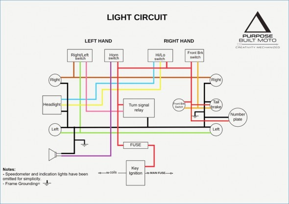 Wiring Diagram For A Mini Harley 43cc
