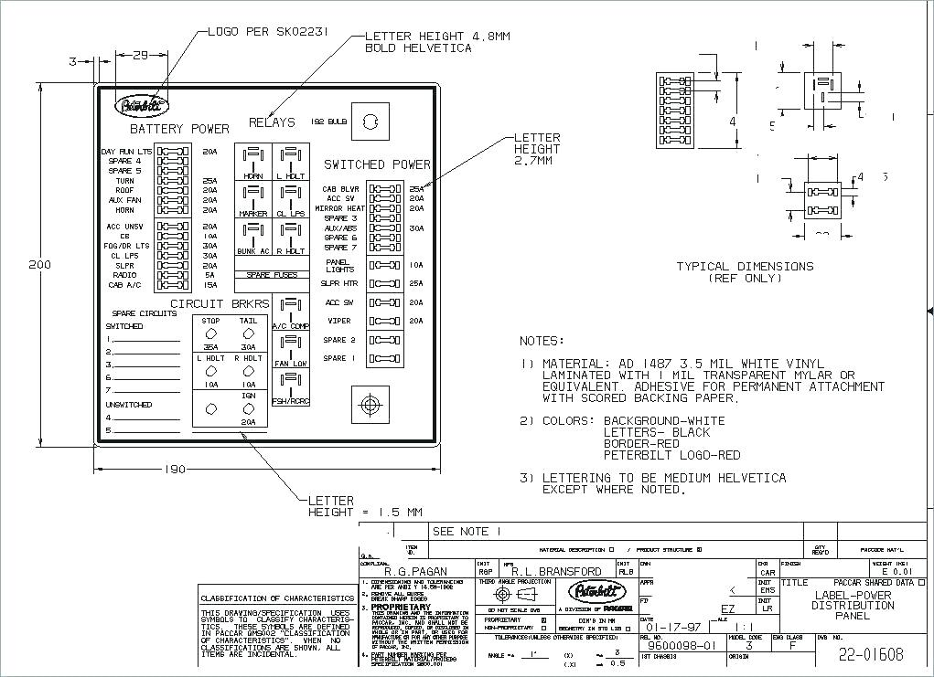 2005 peterbilt 379 fuse box  save wiring diagrams