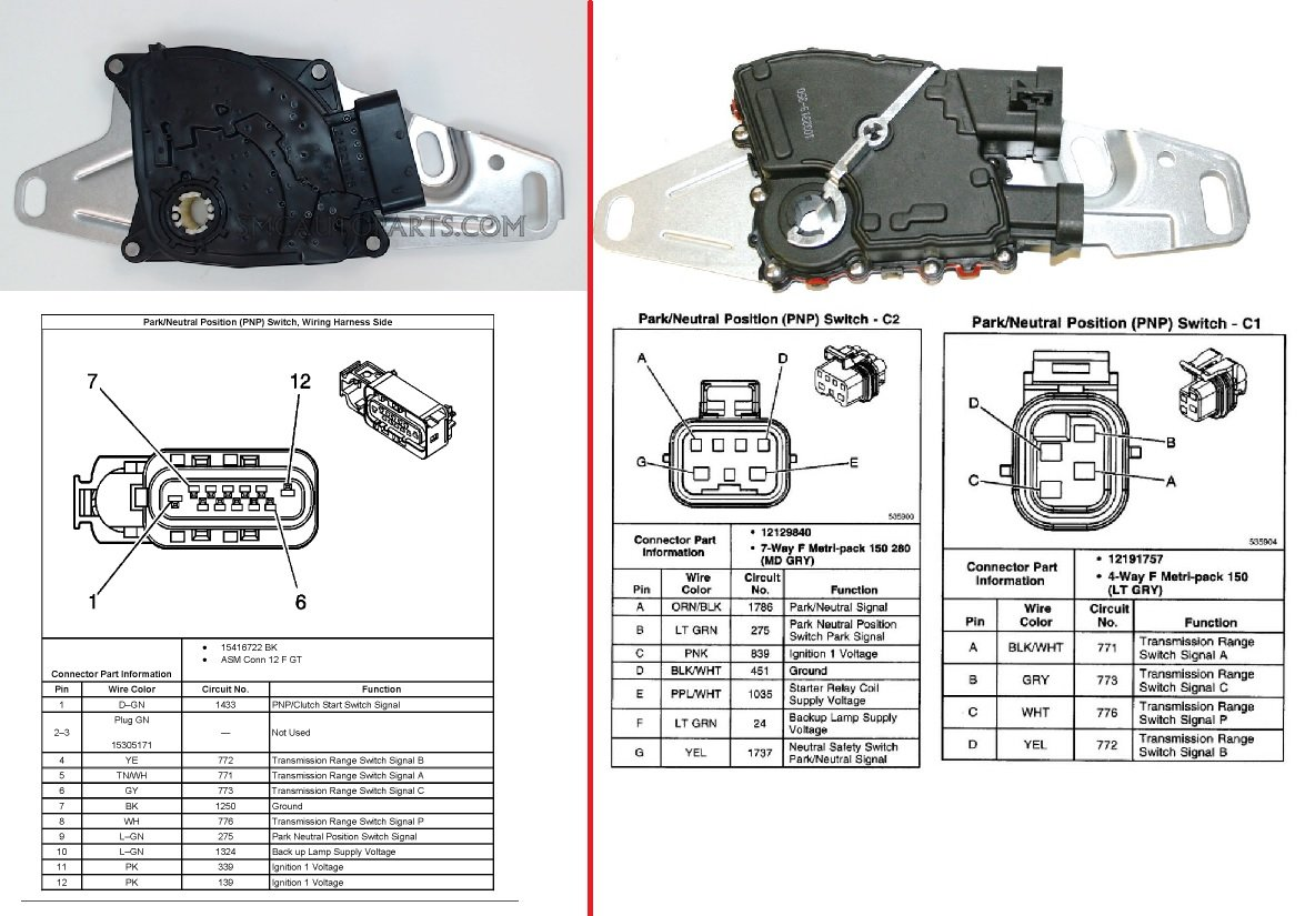 neutral safety relay wiring diagram le 5517  universal neutral safety switch wiring diagram schematic  universal neutral safety switch wiring