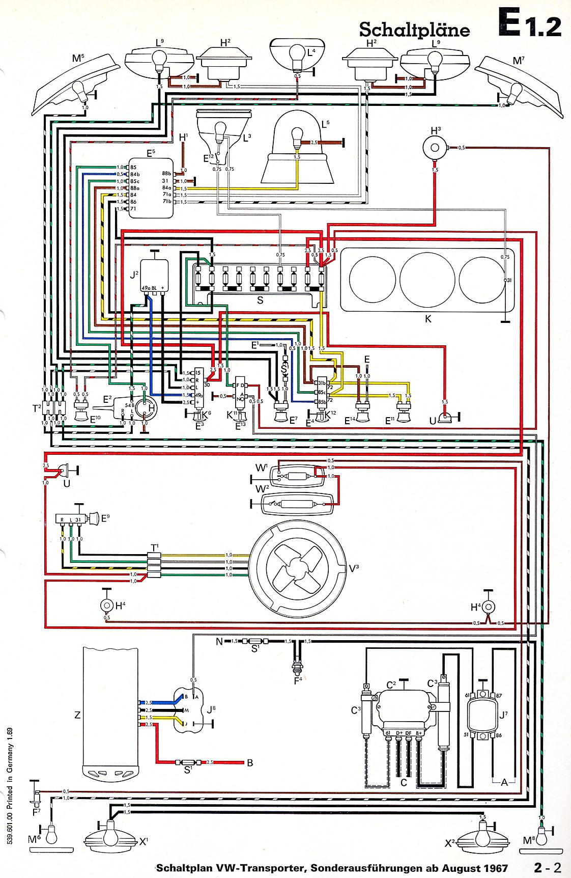 Groovy Vintagebus Com Vw Bus And Other Wiring Diagrams Wiring Cloud Histehirlexornumapkesianilluminateatxorg