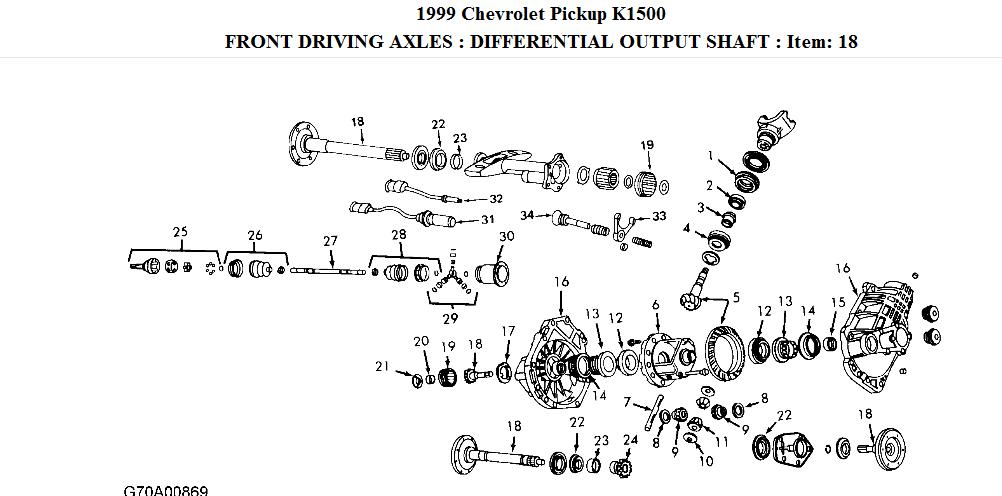 DZ_3139 Chevy Silverado Front Diagram Schematic Wiring