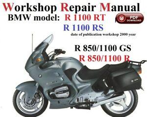 bmw r 1100 wiring diagram dg 7340  bmw r1100s repair manual parts list wiring diagram ebay  dg 7340  bmw r1100s repair manual parts