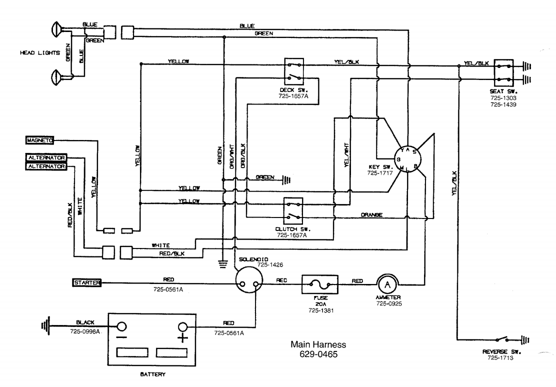 Bx 8689 Riding Lawn Mower Wiring Diagram Montgomery Ward Lawn