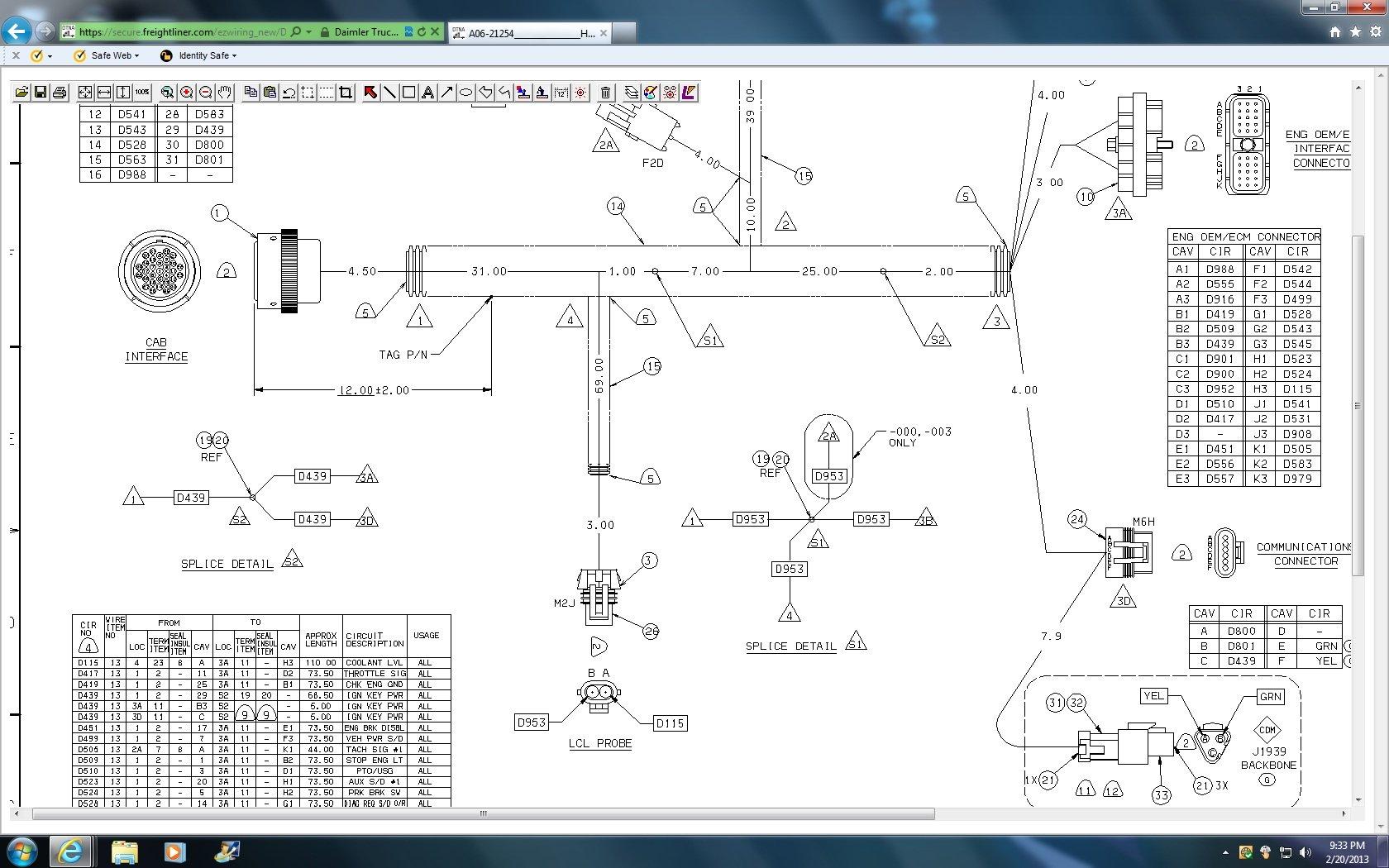 NF_8123] Freightliner Tachometer Wiring Diagram Schematic WiringWned Unho Nekout Seve Mohammedshrine Librar Wiring 101