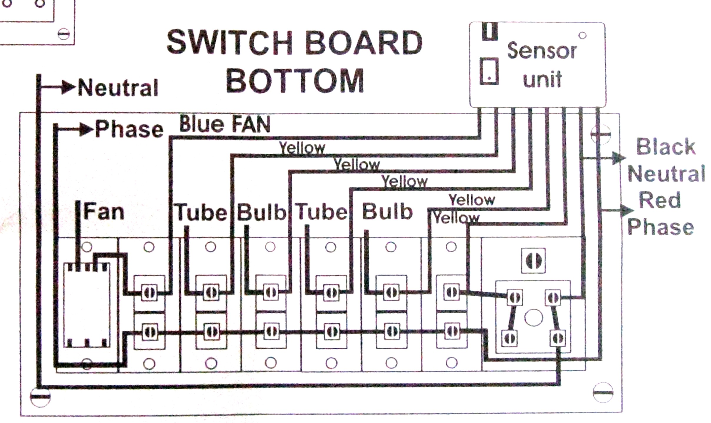 Sn 8769 Switchboard Wiring Diagram