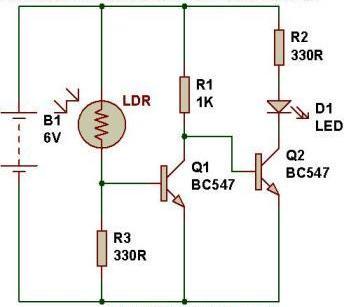 Super Circuit Diagram Of A Low Light Sensor Electronic Ldr Based Circuit Wiring Cloud Rometaidewilluminateatxorg